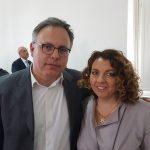 Avv. Siciliano con Dott. Cascone (Presidente IV Comm. Regione Campania