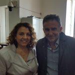 Il Presidente e il Dott. De Gregorio (Presidente E.A.V.)