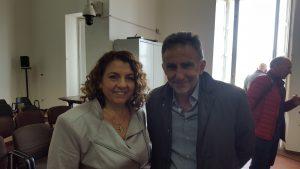 Il Presidente e il Dott. De Gregorio