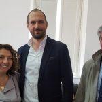 Avv. Siciliano con Ing. Tullio (Dir. Trenitalia Regione Campania) e Dott. Granato (Resp. Media Trenitalia)