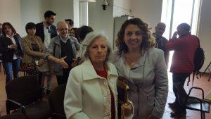 Avv. Siciliano con la Sig.ra Liliana Fossaceca
